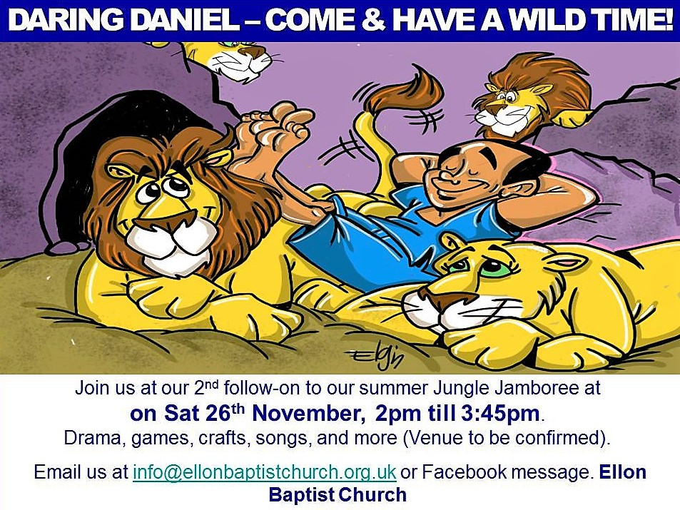 Daring Daniel being brave against all the odds - Sat 26th November, Guide Hut, p1 to p7