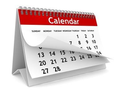 EBC Calendar