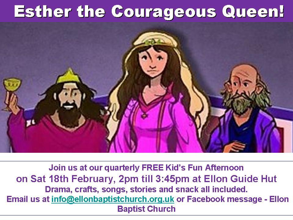 Esther the Courageous Queen
